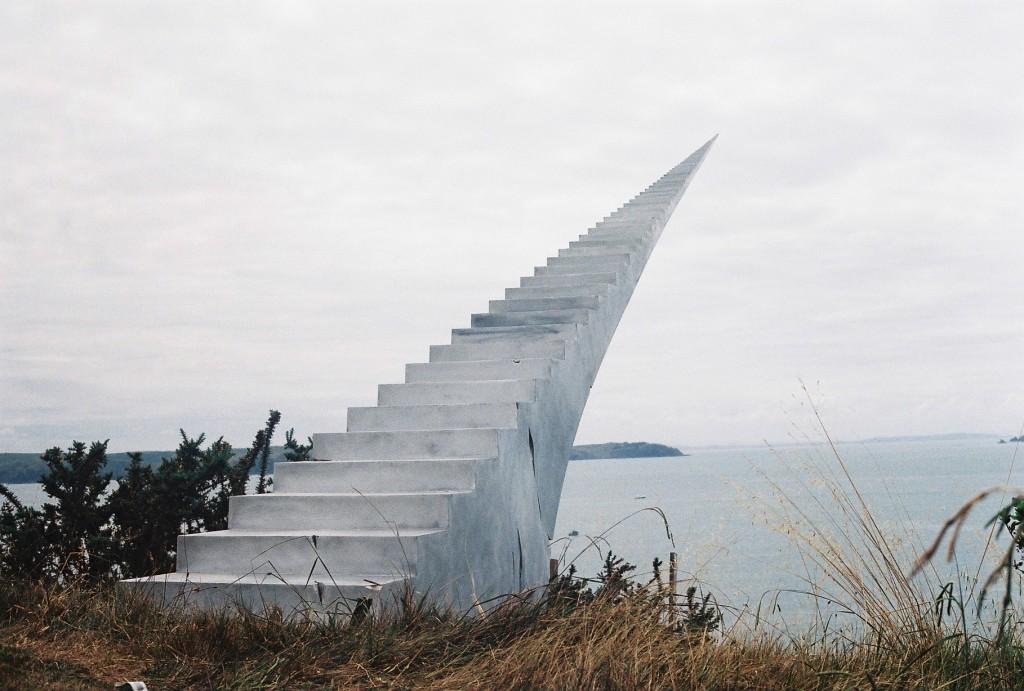 walkway to the mainland 1